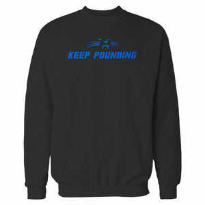 Keep Pounding Carolina Panthers Slogan Sweatshirt