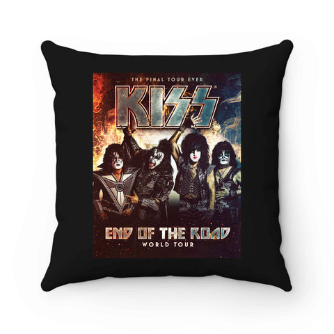 Kiss End Of The Road Poster Pillow Case Cover