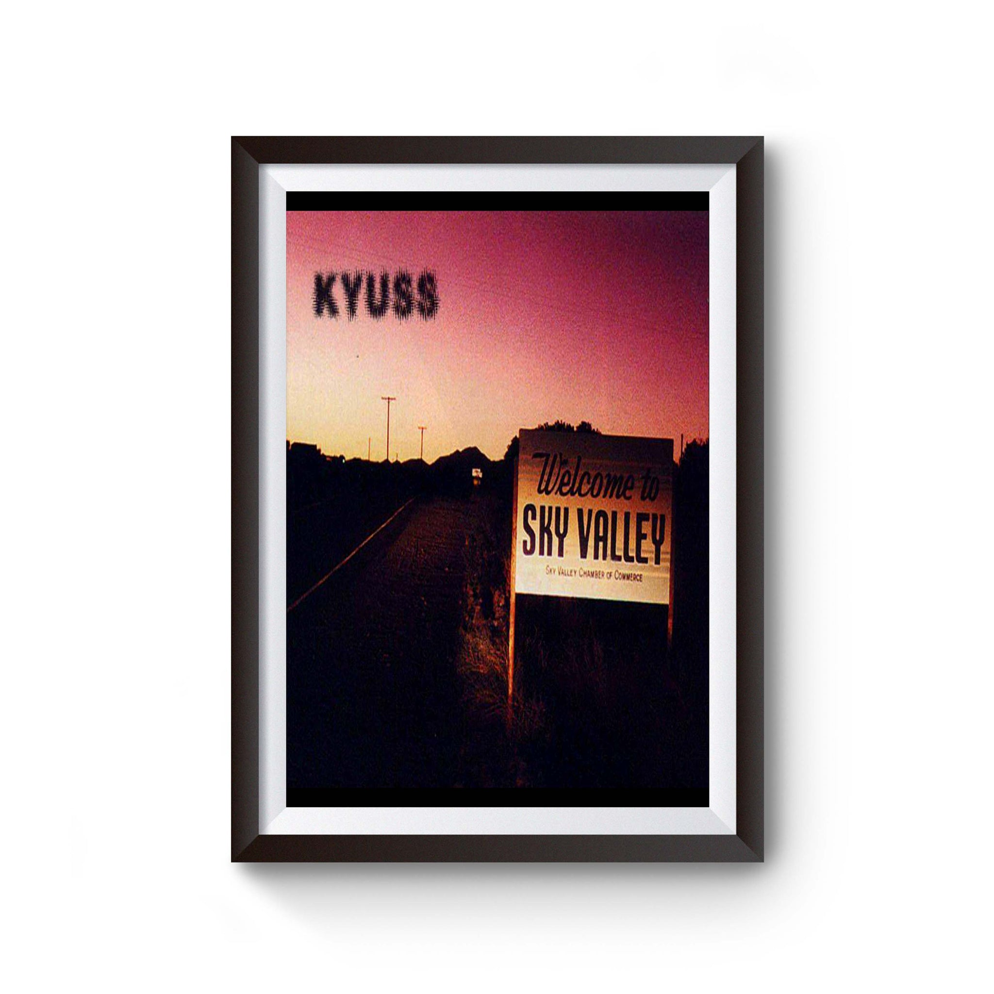 Kyuss Welcome To Sky Valley Poster