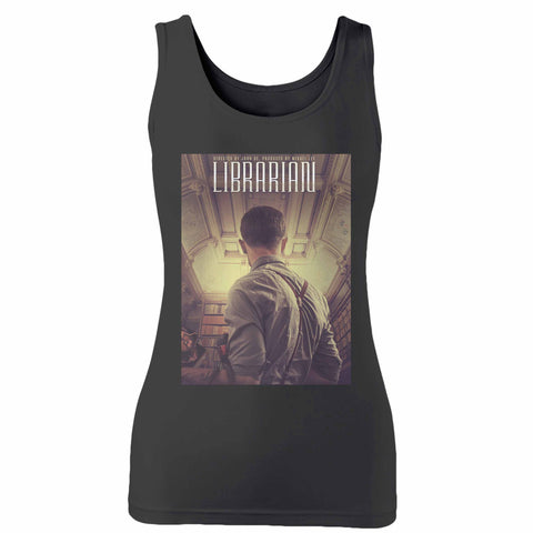 Librarian Movie Woman's Tank Top