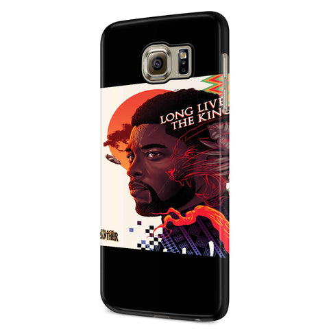 Long Live The King Black Panther Samsung Galaxy S6 S6 Edge Plus/ S7 S7 Edge / S8 S8 Plus / S9 S9 plus 3D Case