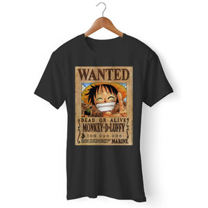 Luffy Wanted Man's T-Shirt