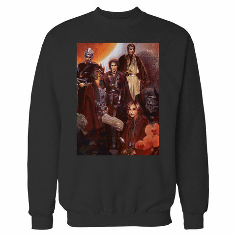 Luke With Jedi Star Wars Sweatshirt