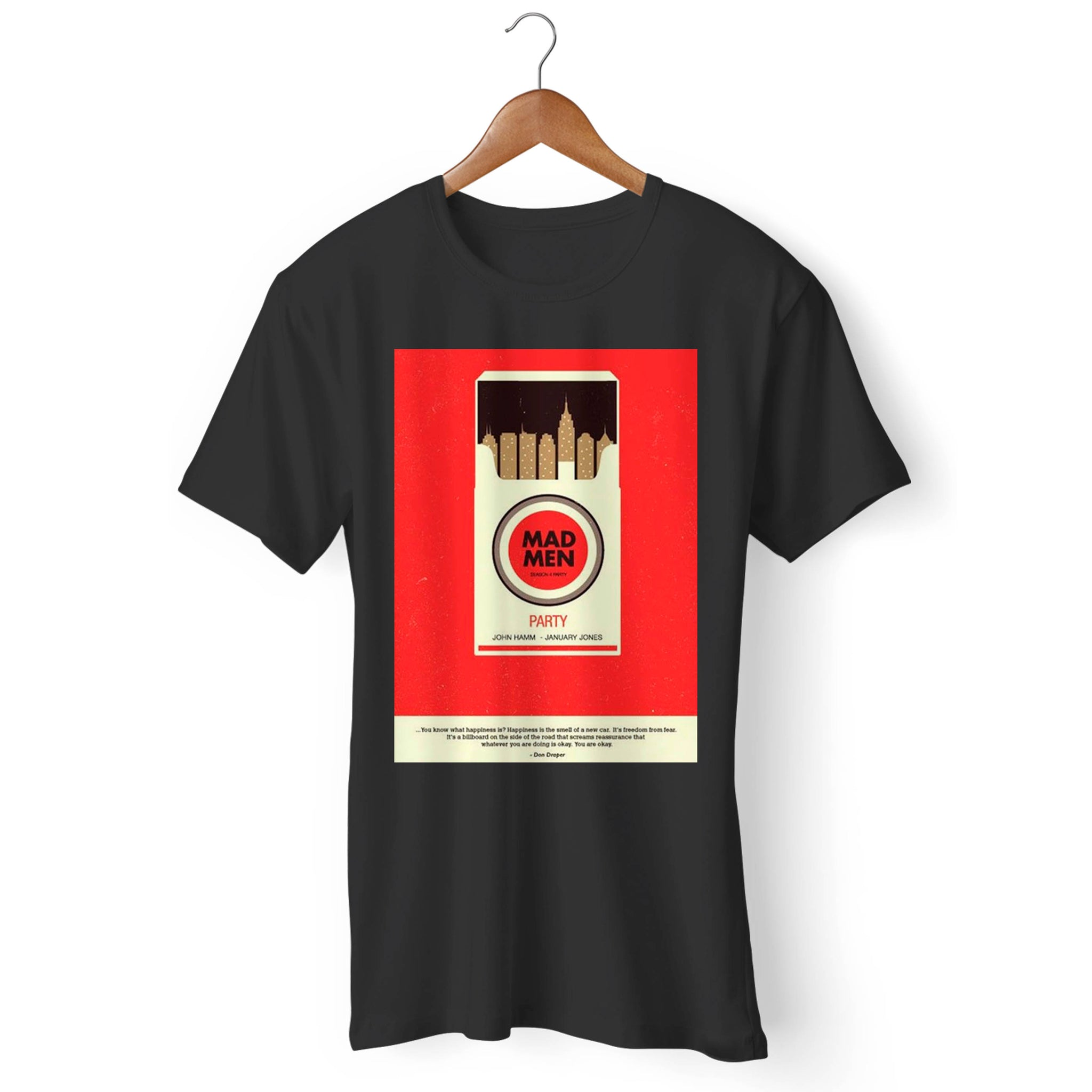 Mad Men Cigarette Man's T-Shirt