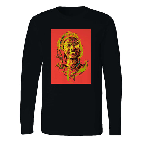 Marcia Griffiths Abstract Art Long Sleeve T-Shirt