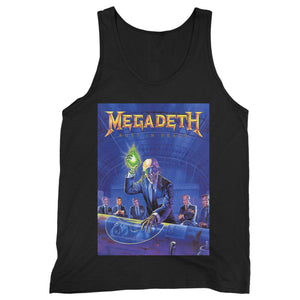 Megadeth Five Rust In Peace Man's Tank Top