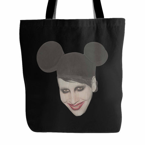 Mickey Marilyn Manson Punk Tote Bag