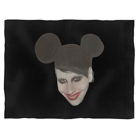 Mickey Marilyn Manson Punk Blanket