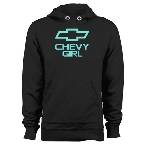 Mint Chevy Girl Unisex Hoodie