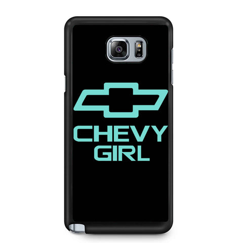 Mint Chevy Girl Samsung Galaxy Note 4 / Note 5 Case