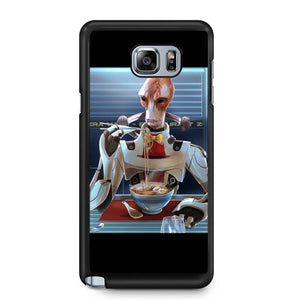 Mordin Solus Eat Noodles Samsung Galaxy Note 4 / Note 5 Case