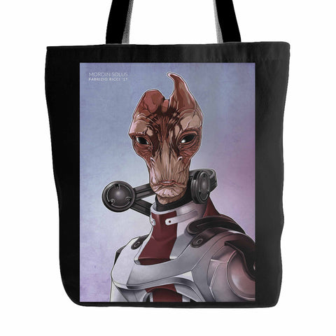Mordin Solus Mass Effect Part 2 Tote Bag