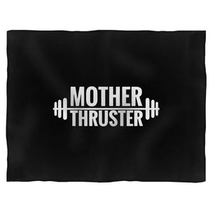 Mother Thruster Gym Fitness Barbell Weightlifting Blanket