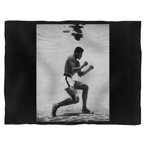 Muhammad Ali Training Underwater Blanket