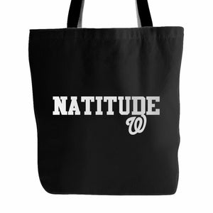 Natitude Washington Nationals Sports Team 2 Tote Bag