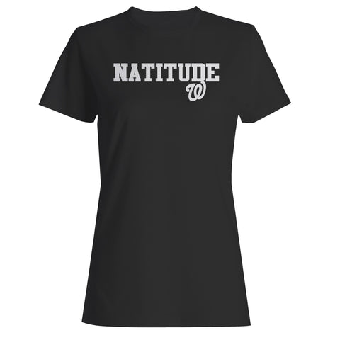 Natitude Washington Nationals Sports Team 2 Woman's T-Shirt