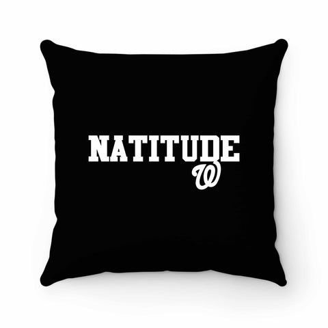 Natitude Washington Nationals Sports Team 2 Pillow Case Cover