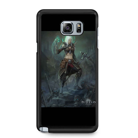 Necromancer Diablo Characters Samsung Galaxy Note 4 / Note 5 Case