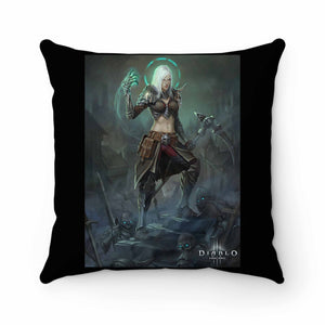Necromancer Diablo Characters Pillow Case Cover