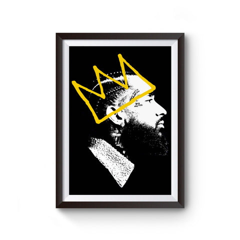 Nipsey Hussle Hiphop Rap Music Poster