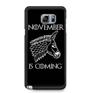 November Is Coming Samsung Galaxy Note 4 / Note 5 Case