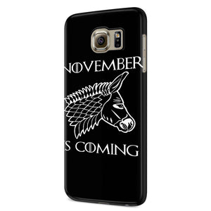 November Is Coming Samsung Galaxy S6 S6 Edge Plus/ S7 S7 Edge / S8 S8 Plus / S9 S9 plus 3D Case
