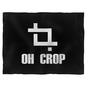 Oh Crop Dslr Camera Photography Blanket