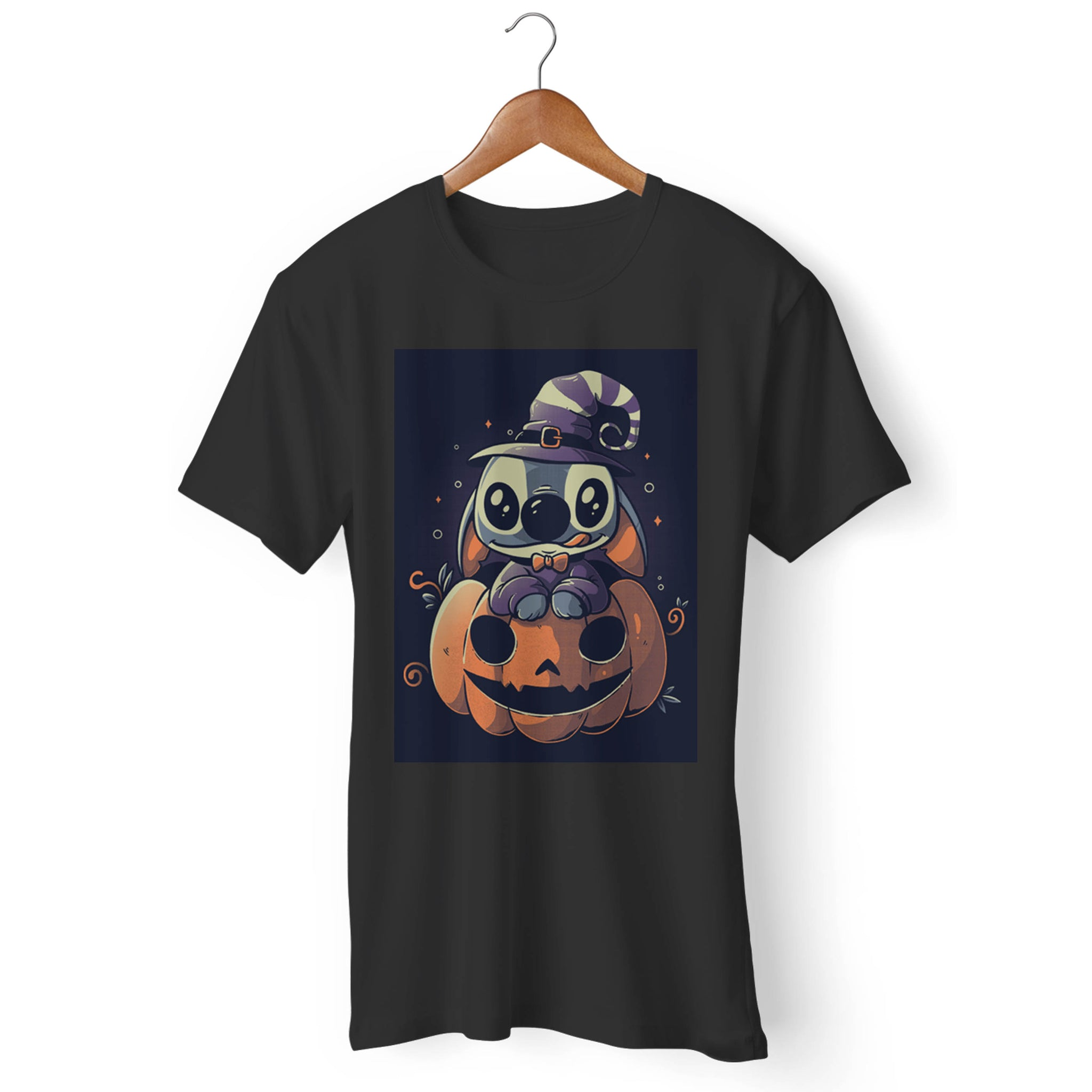 Ohana Stitch Pumpkin Man's T-Shirt