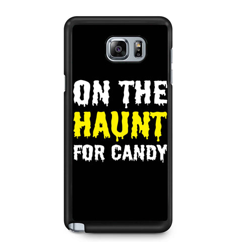 On The Haunt For Candy Samsung Galaxy Note 4 / Note 5 Case