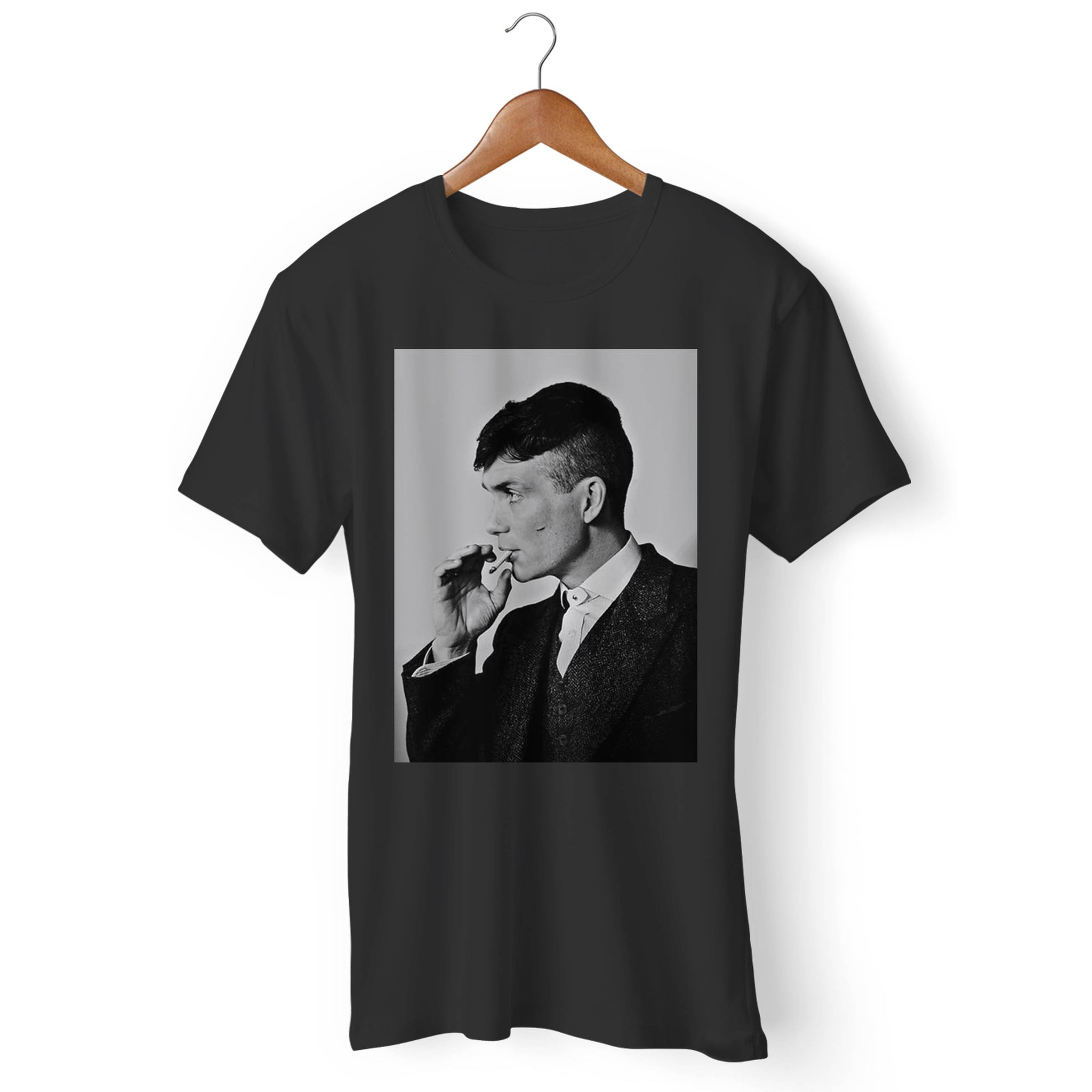 Peaky Blinders Smoking Tommy Shelby Man's T-Shirt