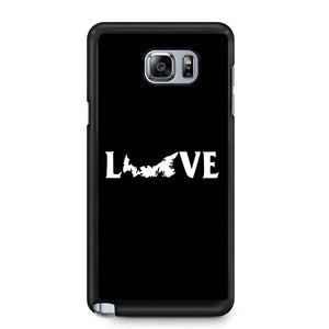 Prince Edward Island Love Samsung Galaxy Note 4 / Note 5 Case
