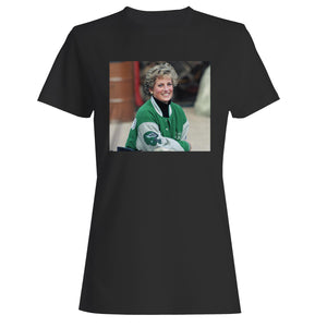 Princess Diana Wearing Philadelphia Eagles Jacket Woman's T-Shirt