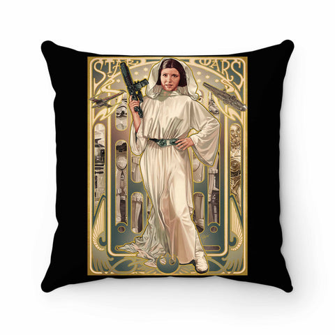 Princess Leia Organa Pillow Case Cover