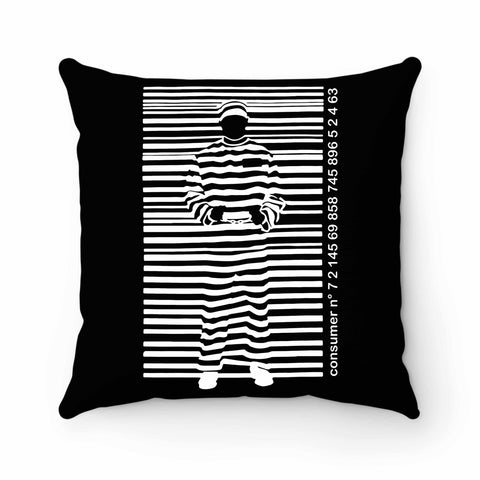 Prisoner Barcode Banksy Street Pillow Case Cover