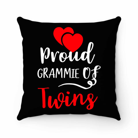 Proud Grammie Of Twins Pillow Case Cover