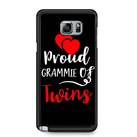 Proud Grammie Of Twins Samsung Galaxy Note 4 / Note 5 Case