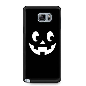 Pumpkin Face Jack O Lantern Halloween Scary Pumpkin Face Halloween Party Pumpkin Face Happy Halloween Samsung Galaxy Note 4 / Note 5 Case