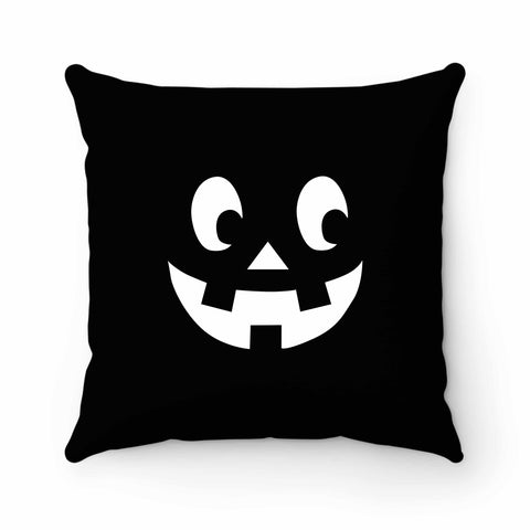Pumpkin Face Jack O Lantern Halloween Scary Pumpkin Face Halloween Party Pumpkin Face Happy Halloween Pillow Case Cover
