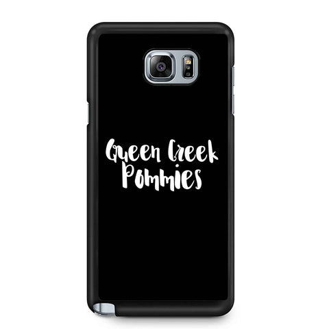 Queen Creek Pommies Samsung Galaxy Note 4 / Note 5 Case