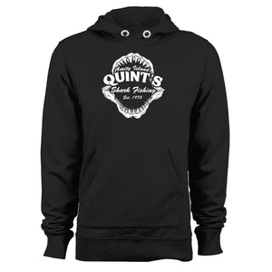 Quints Shark Fishing Jaws Unisex Hoodie