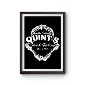 Quints Shark Fishing Jaws Poster