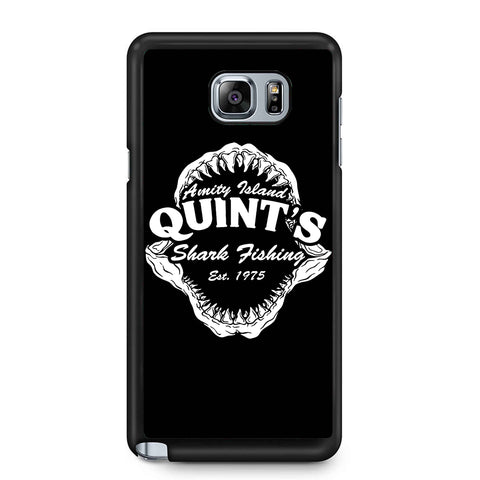 Quints Shark Fishing Jaws Samsung Galaxy Note 4 / Note 5 Case