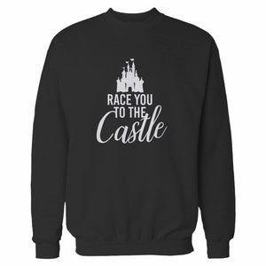 Race You To The Castle Disney World Disney Family Sweatshirt