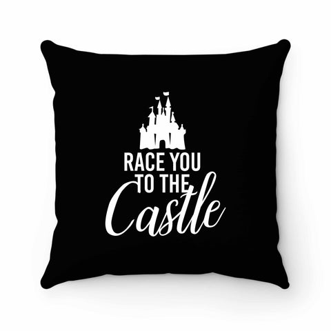 Race You To The Castle Disney World Disney Family Pillow Case Cover