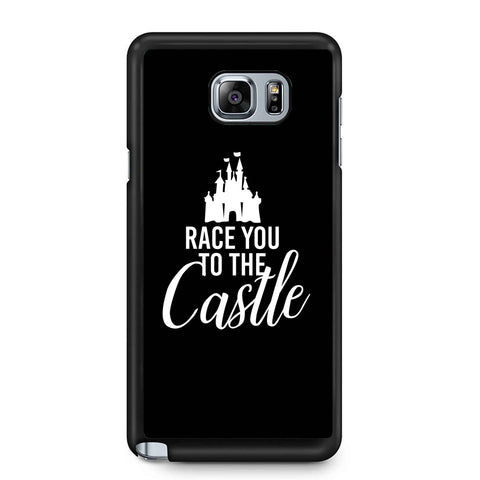 Race You To The Castle Disney World Disney Family Samsung Galaxy Note 4 / Note 5 Case