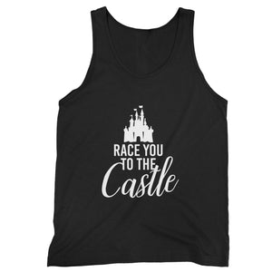Race You To The Castle Disney World Disney Family Man's Tank Top