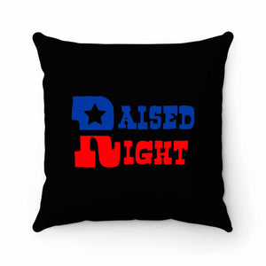 Raised Right Pillow Case Cover