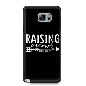 Raising Arrows Psalm 127-3-5 Samsung Galaxy Note 4 / Note 5 Case