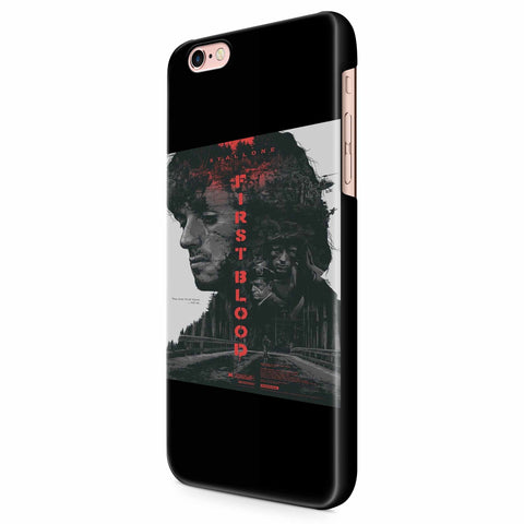Rambo First Blood Sylvester Stallone iPhone 6/6S/6S Plus | 7/7S/7S Plus | 8/8S/8S Plus| X/XS/XR/XS Max 3D Case