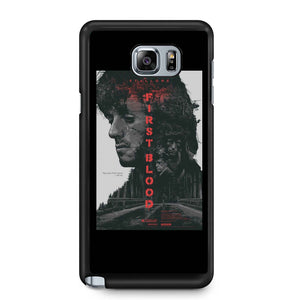 Rambo First Blood Sylvester Stallone Samsung Galaxy Note 4 / Note 5 Case